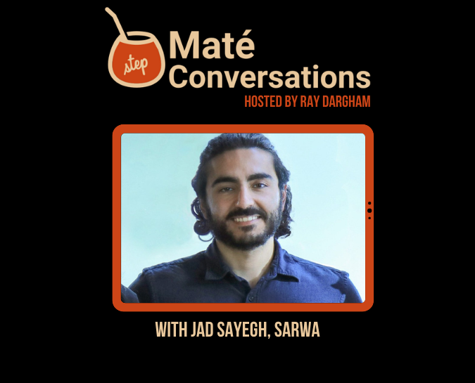 Meet Sarwa's CTO in the next episode of Maté Conversations, live!