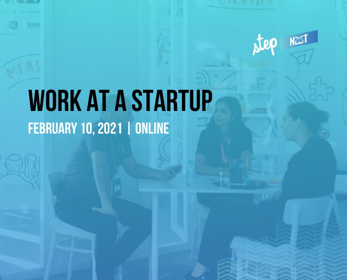 Are you a hiring startup or a job seeker? Join Step Next.