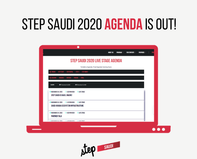 Step Saudi 2020 Agenda is Out ✅