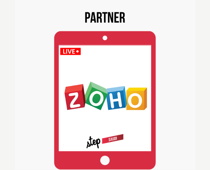 Your workplace reimagined, Zoho, at Step Saudi