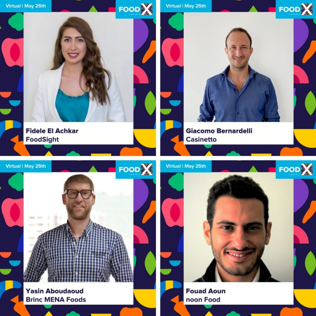 Speakers joining the FoodX Summit