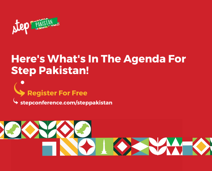 We're less than a month away from Step Pakistan!