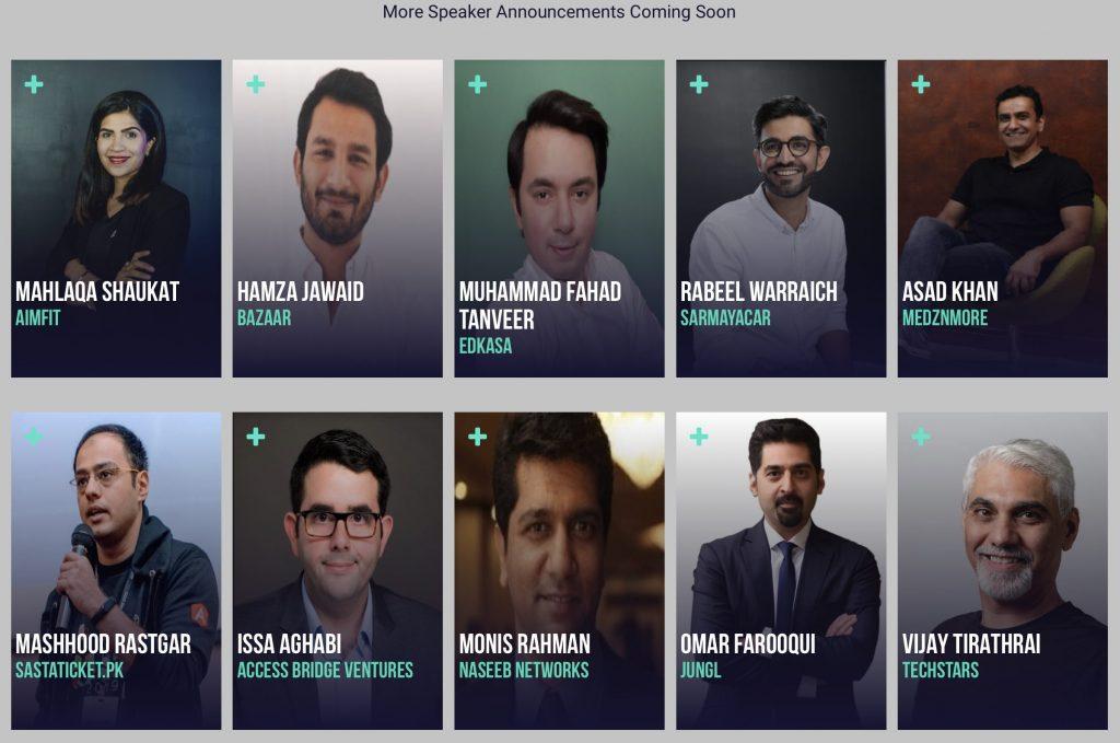 pakistan event speakers